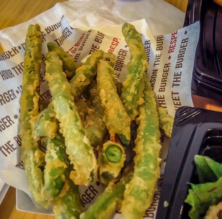 The Habit Burger Grill: Fried Green Beans
