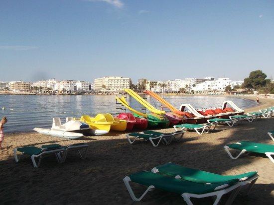 Intertur Hotel Miami Ibiza : the bay from outside the hotel