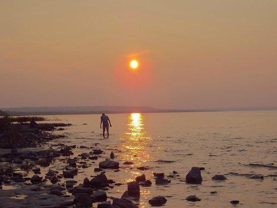 Craigleith Provincial Park : gorgeous sunsets