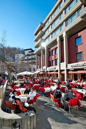 Hauser Restaurant: Terrassenrestaurant