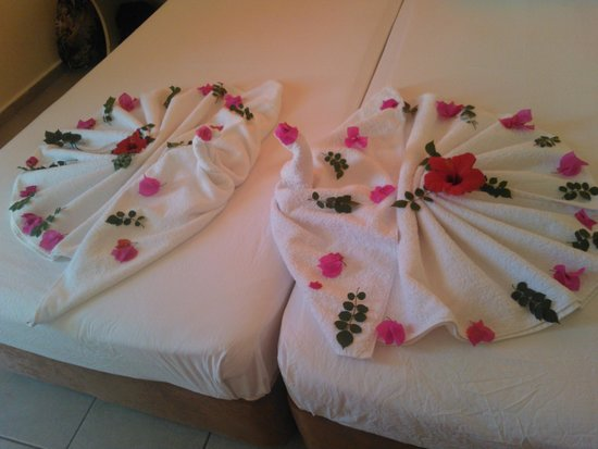 Tekin Apartments: Towels from maids