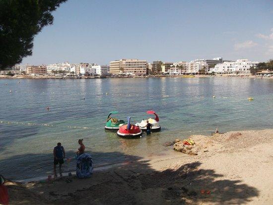 Intertur Hotel Miami Ibiza: view from pool area