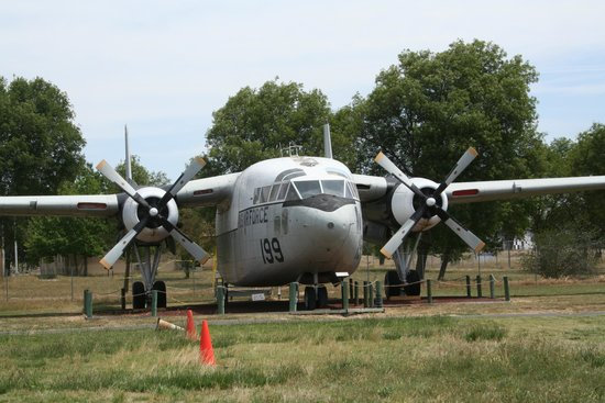 Castle Air Museum: boxcar