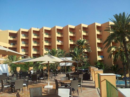 Hotel El Ksar: from the pool