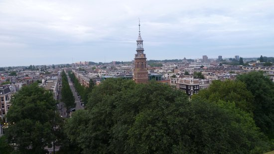 Amsterdam Tropen Hotel : Uitzicht
