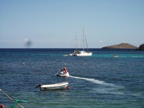 Alua Miami Ibiza: sea from the hotel