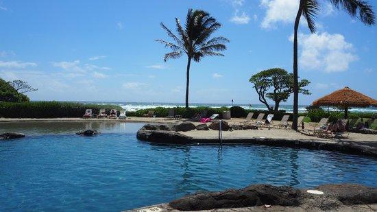 Kauai Beach Resort : Pool fronsite ocean