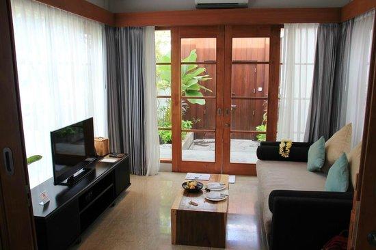 The Samaya Bali Seminyak : Salon de la villa