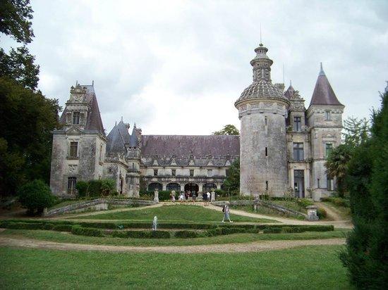 Le Chateau des Enigmes : Vue d'ensemble du château des énigmes