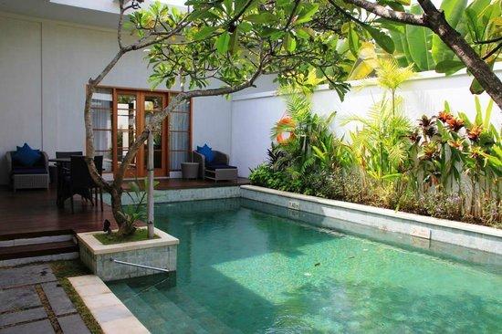 The Samaya Bali Seminyak : Piscine de la villa (vue 1)