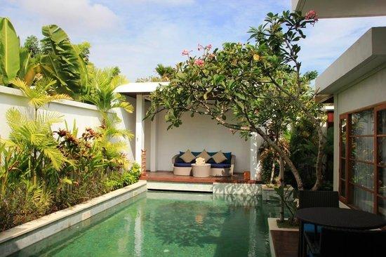The Samaya Bali Seminyak : Piscine de la villa (vue 2)