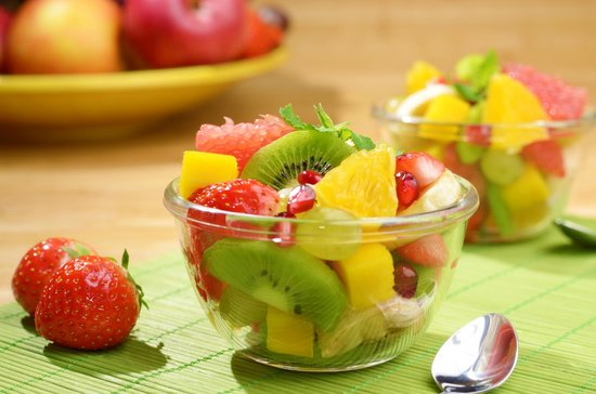 Art Cafè y Mucho Mas!: Fresh fruit salad
