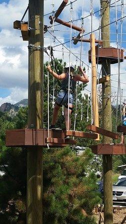 Open Air Adventure Park: Having fun!