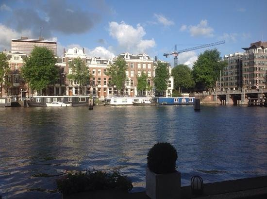 InterContinental Amstel Amsterdam: View from breakast