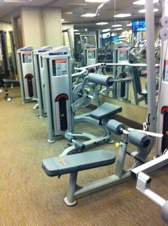 Northern Quest Resort & Casino: State of the art fitness machines. Always clean!