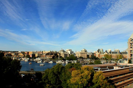 BEST WESTERN Plus Inner Harbour: From the balcony - Room 702