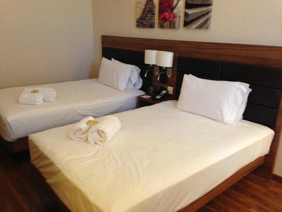 Hilton Garden Inn Sevilla: Chambre