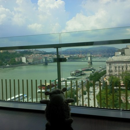 Budapest Marriott Hotel: view from my room