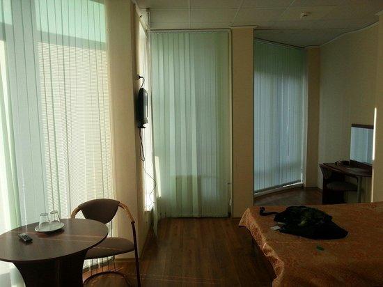 Akvarel Hotel: Номер с панорамными окнами