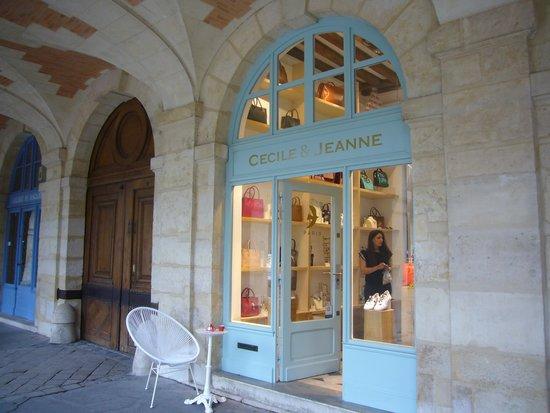 Place des Vosges : I negozi
