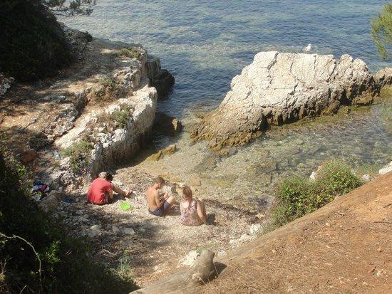Île Sainte-Marguerite: Badestelle