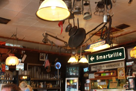 Wagon Train Coffee Inside Diner