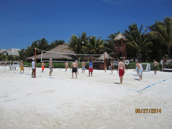 El Dorado Maroma, by Karisma: Volleyball on the Beach