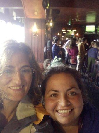 SANDEMANs NEW Europe - Dublin: con María en el restaurante de Howth
