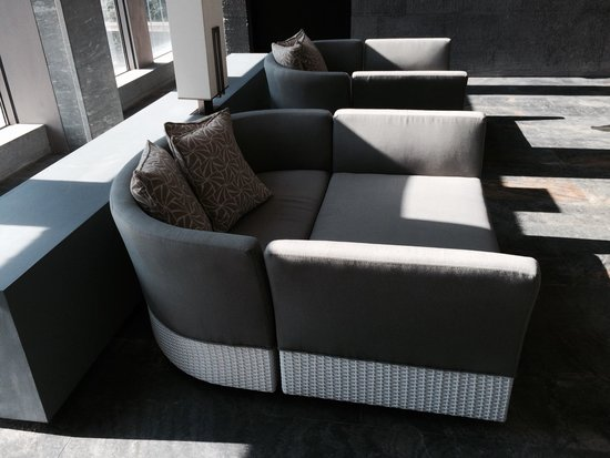 nice couches by the pool picture of new world beijing hotel rh tripadvisor com sg