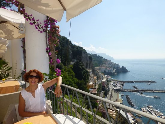 NH Collection Grand Hotel Convento di Amalfi: This is how terrace looked like