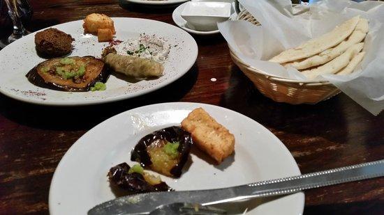 Sarah's Mediterranean Cuisine And Cafe : Sampler Plate - Choose 5 off Menu