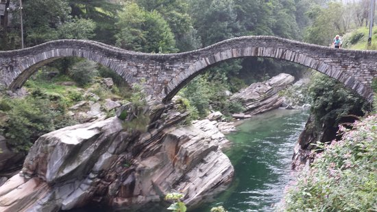 Posse: Brücke in Lavertezzo
