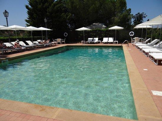 Hotel Villa Athena: La piscine