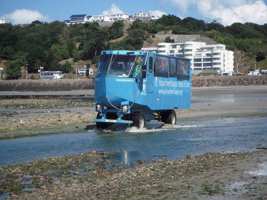 The Inn Boutique: ...by amphibious vehicle