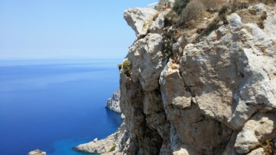 Folegandros, Greece: Near galifos nudist beach