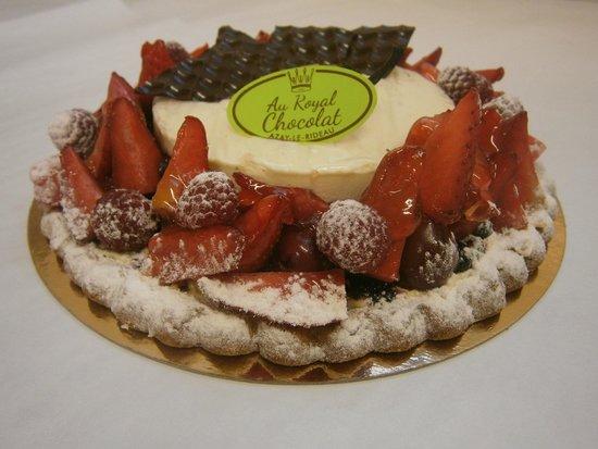 Au Royal Chocolat : Tarte Alain