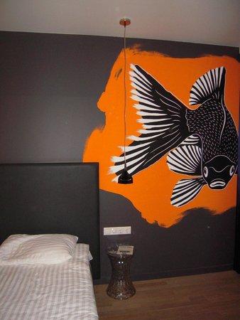 Casati Budapest Hotel: Chambre double très design
