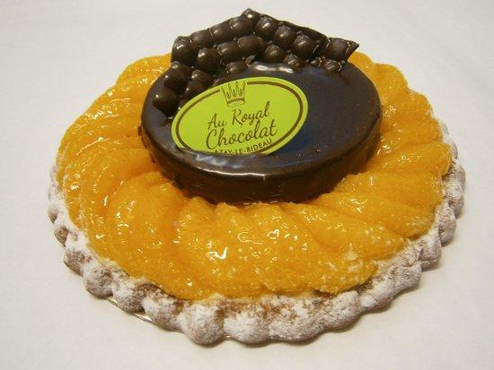 Au Royal Chocolat : Tarte Marion