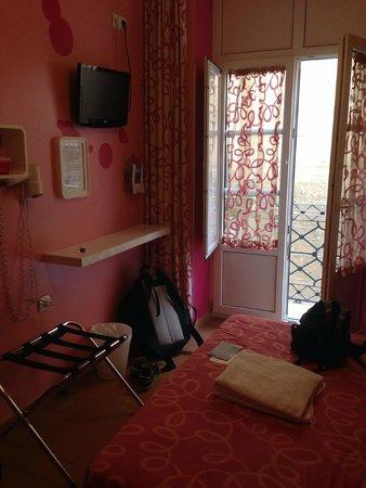 Pension San Nicolas: La habitación que podíamos elegir