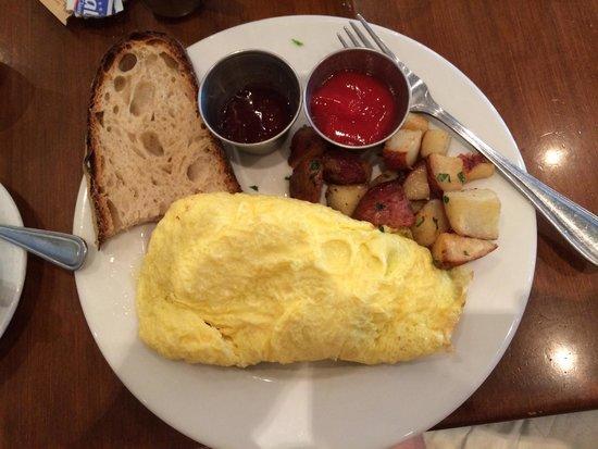 Radisson Hotel & Suites Austin Downtown: Garden omelet