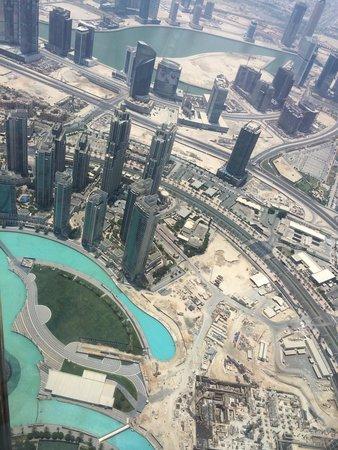Burj Khalifa: View from the top!!