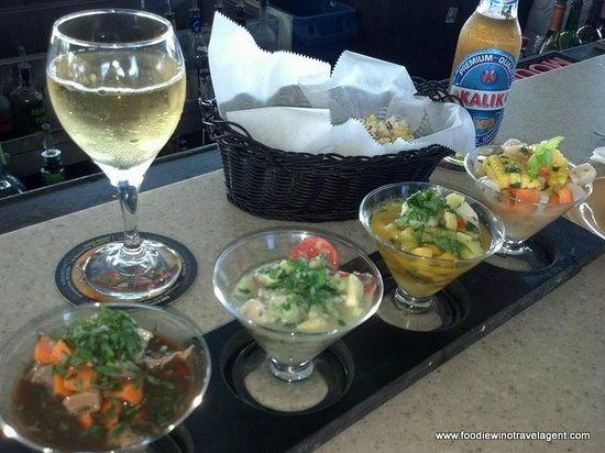 Turtle Kraals: Rooftop Ceviche at the Tower Bar #TurtleKraals in Key West!