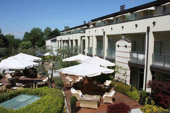 Hotel Caesius Thermae & Spa Resort: Terrasse vom Zimmer