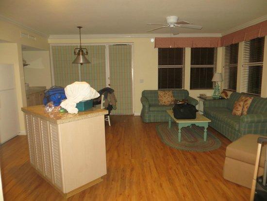 Disney's Old Key West Resort : living area