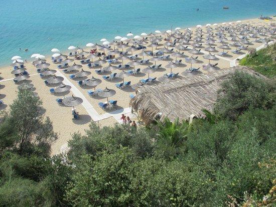 Oceanview Beach Hotel: Θεα απο το μπαρ