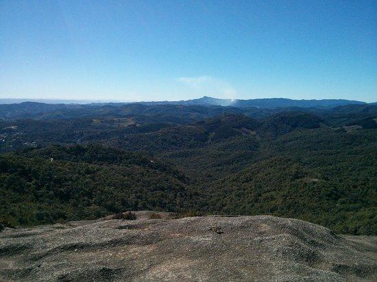 Pedra Redonda: Vista a 2 mil metros de altitude