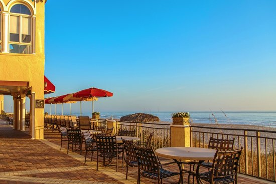 The Lodge and Club at Ponte Vedra Beach : Oceanfront dining at The Oasis