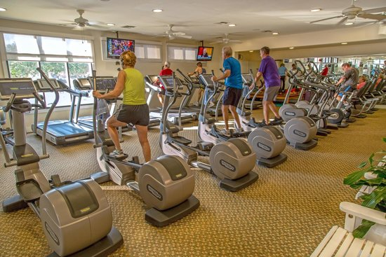 The Lodge and Club at Ponte Vedra Beach : Gym