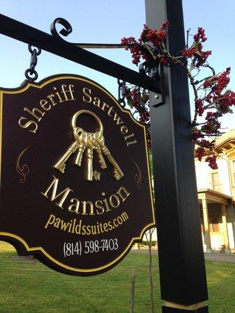 Mansion District Inn Bed & Breakfast : Sheriff Sartwell Mansion