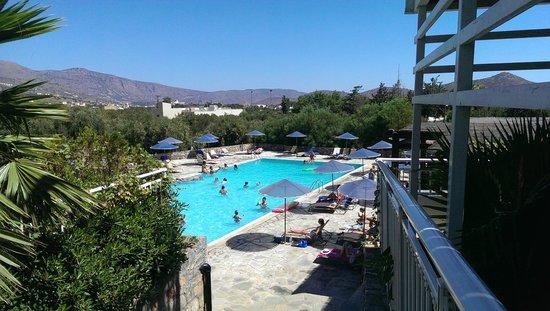 Elounda Breeze Resort: Piscine avec activités